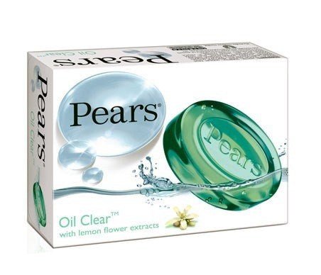Pears Oil-clean Soap With Lemon Flower Extract - 3.5 Ounces