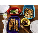Corningware Ovenware Bakeware Set, Multi-color, 4-pieces