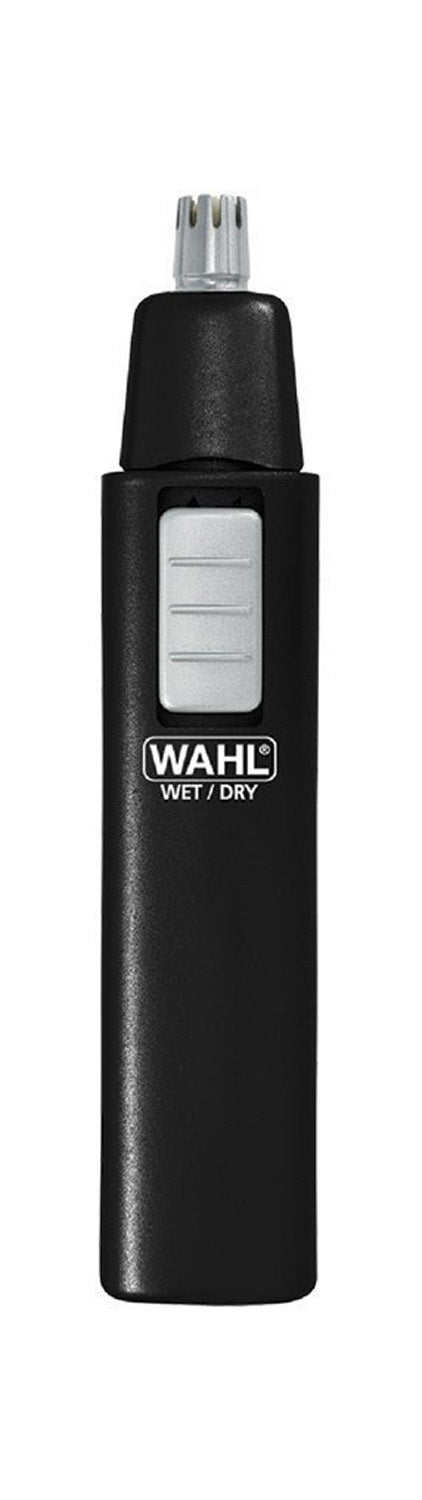 Wahl Wet-Dry Stainless Steel Nose, Ear & Brow Trimmer