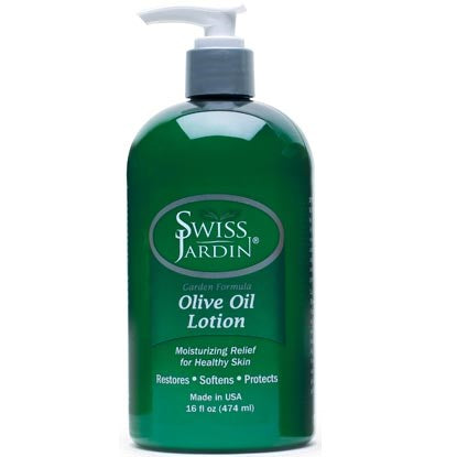 Swiss Jardin Olive Oil Moisturizing Lotion - 16 Ounces