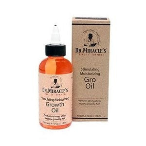 Dr. Miracle's Strengthen Moisturizing Gro Oil - 4 Ounces