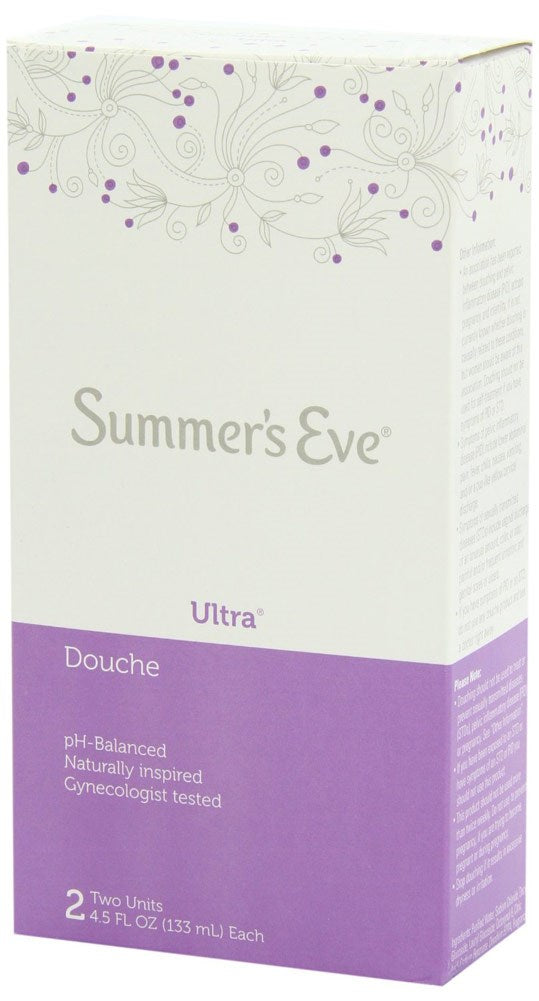 Summer's Eve 2-pack Douche Cleansing Ultra - 4.5 Ounces Each