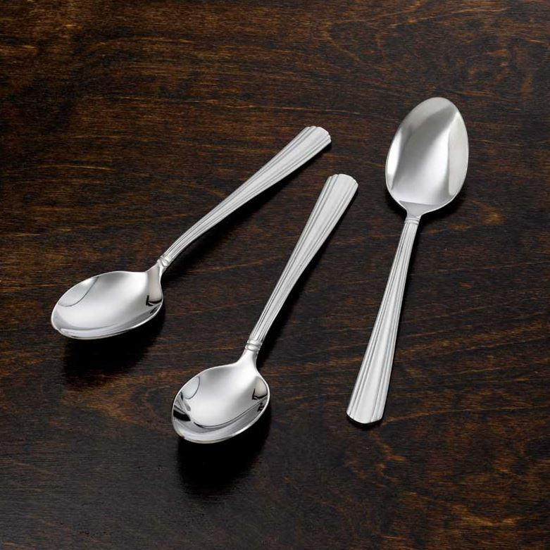 Imperial Tea Spoon Stainless Steal, 6.25 Inches, 3 Pieces