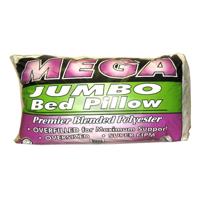Mega Jumbo Bed Super-firm Pillow