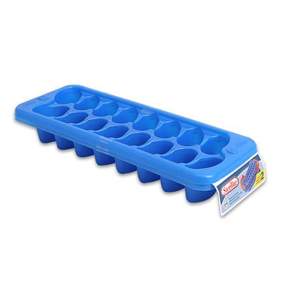 Sterilite 2-pack Ice Cube Tray Blue - 11x4x2