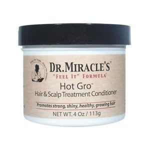 Dr. Miracle's Hot Gro Hair & Scalp Treatment Conditioner - 4 Ounces