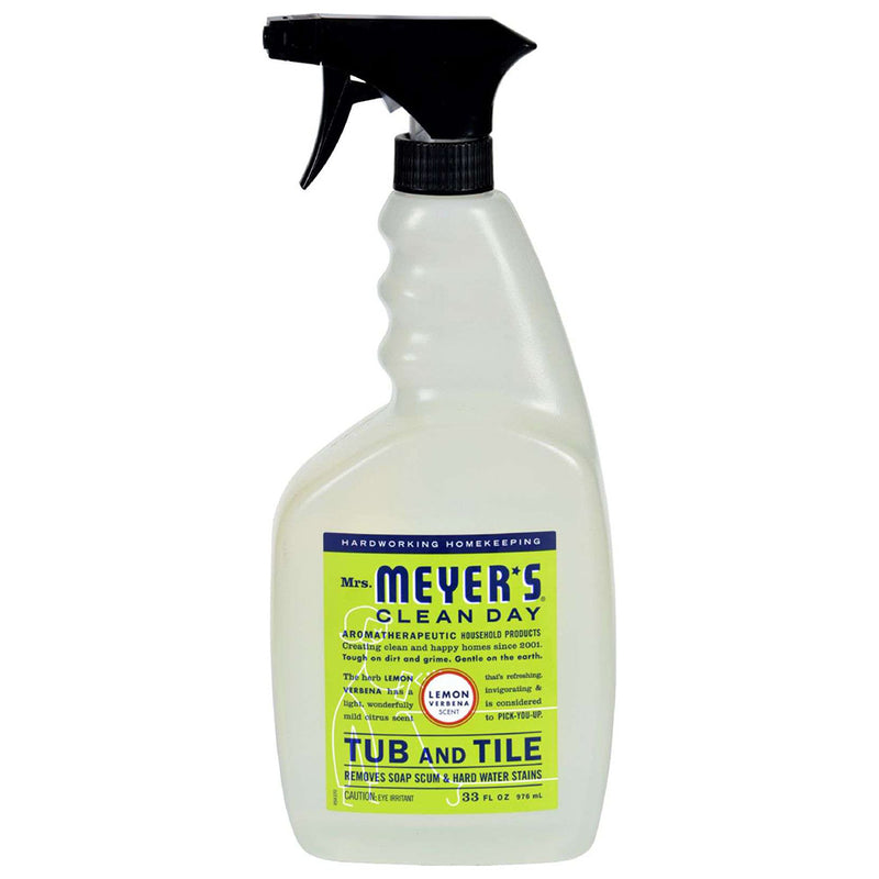 Mrs. Meyer's Tub And Tile Cleaner, Lemon Verbena, 33 Ounces