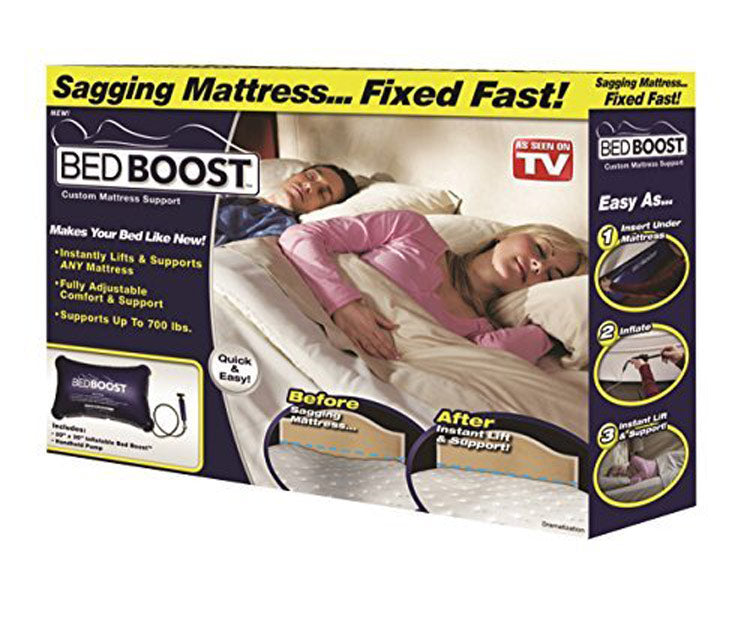As Seen On Tv Bed Boost Mattress Support, Fast Fix For A Sagging Mattress