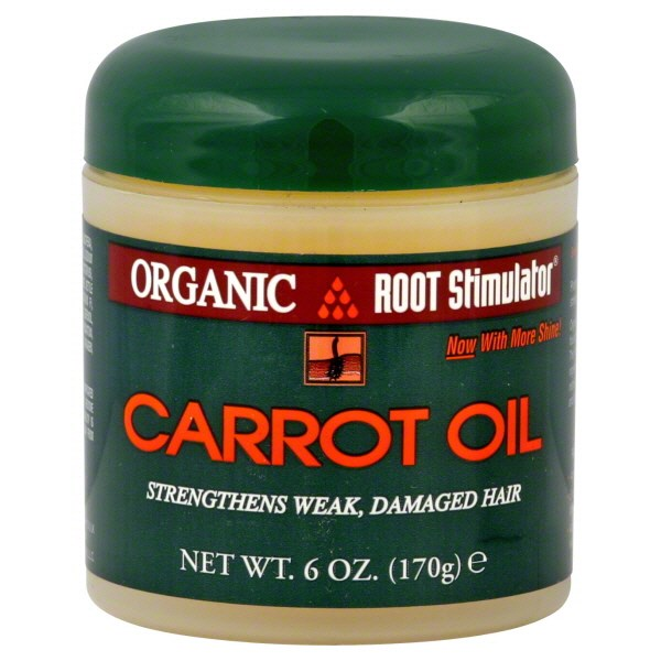 Organic Root Stimulator Carrot Oil - 6 Ounces