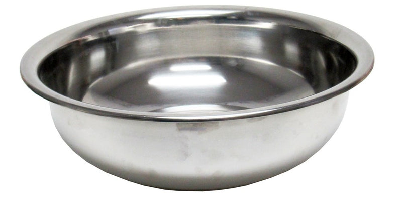 Stainless Steel Mixing Bowl Silver, 7.5 Quart