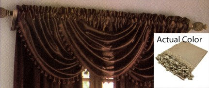Hilton Waterfall Valance Antique - 57x37