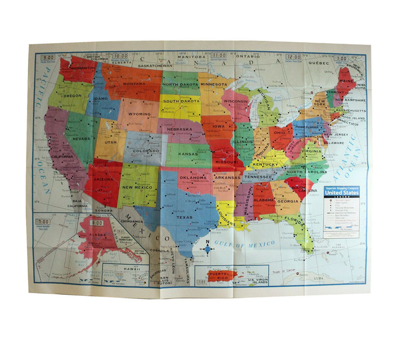 Kappa United States Large Format Wall Map Poster, 40x28