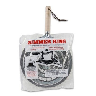 Simmer Ring Heat Diffuser For Gas And Electric Ranges- 8.5 Inches
