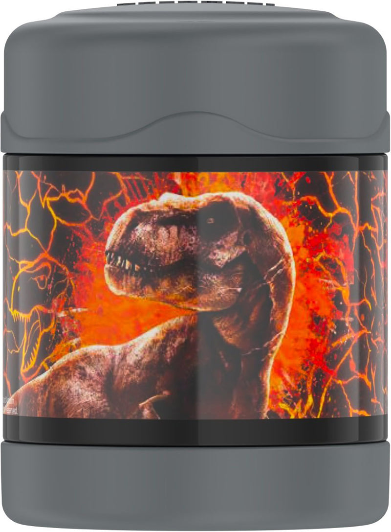 Thermos FUNtainer Jurassic World 2 Food Jar, Black, 10 Ounces