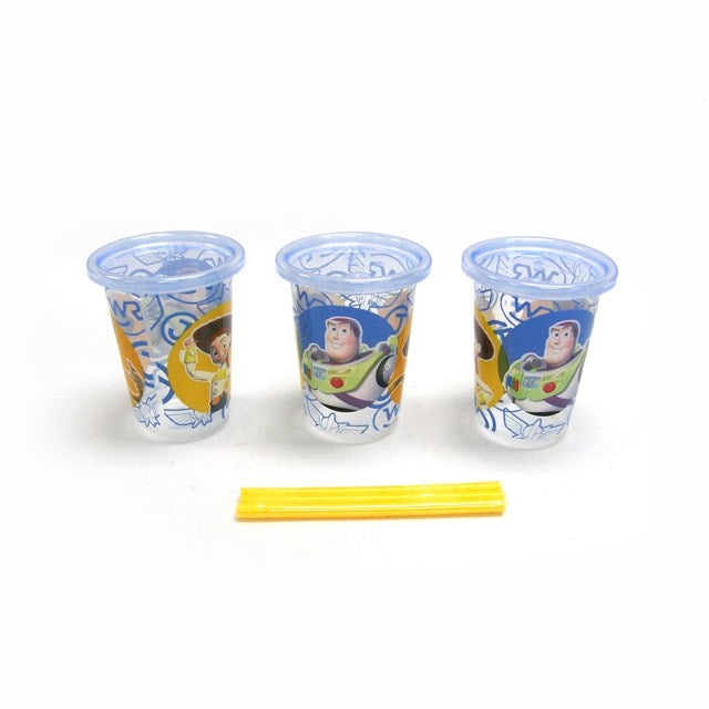 The First Years Toy Story Straw Cup 3pk 10oz