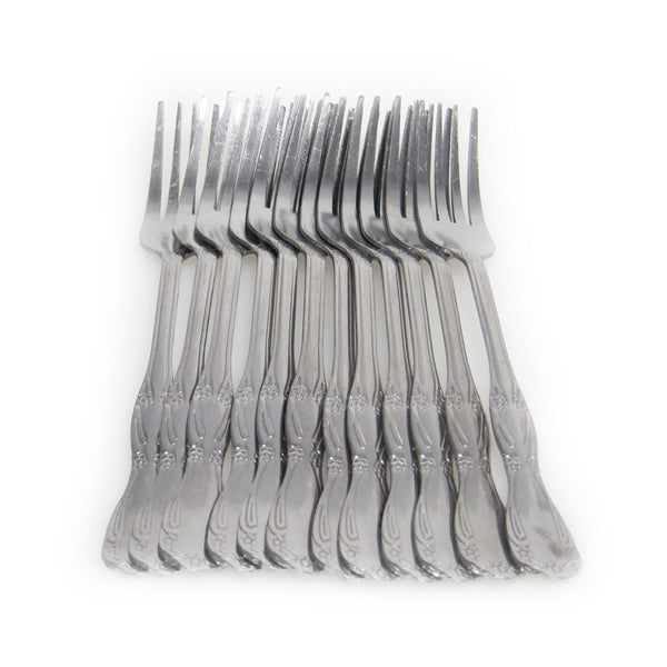F Ggbin 12-Piece Stainless Steel Dinner Forks 7.87-Inch