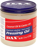 Dax Pressing Oil With Coconut Oil And Castor Oil Jar - 14 Ounces