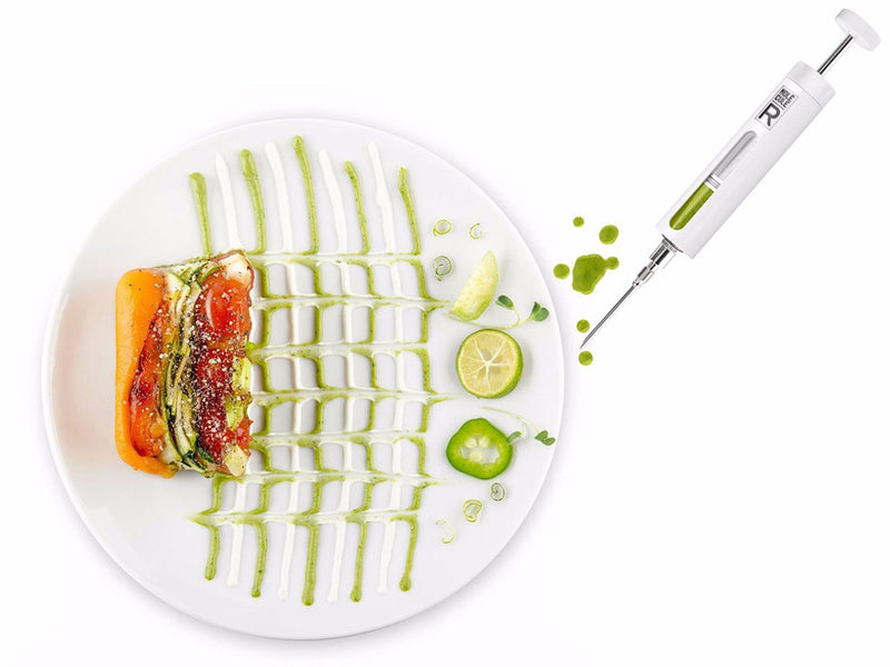 Molecule-r Food Styling And Marinade Injection Culinary Syringe