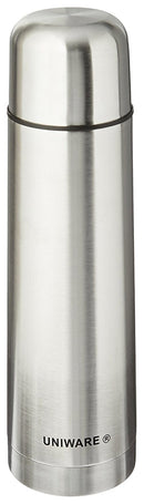 High Quality Stainless Steel Vacuum Flask Bottle Thermos Silver - 500 Ml