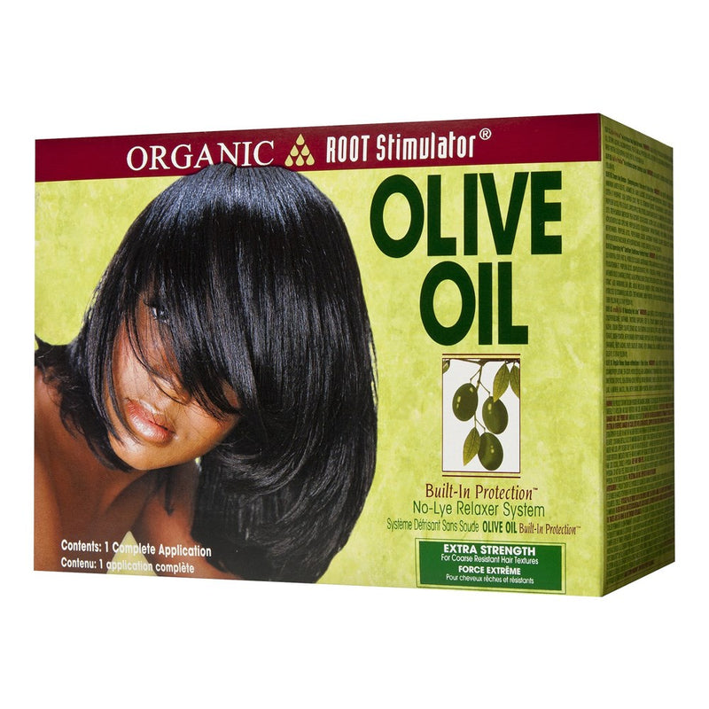 Organic Root Stimulator Olive Oil No-lye Relaxer - Normal