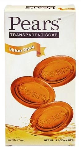 Pears Gentle Care Transparent Bar Soap - 3-pack