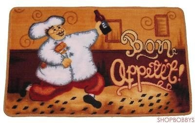 Happy Chef Bon Appetite Kitchen Mat - 19x31