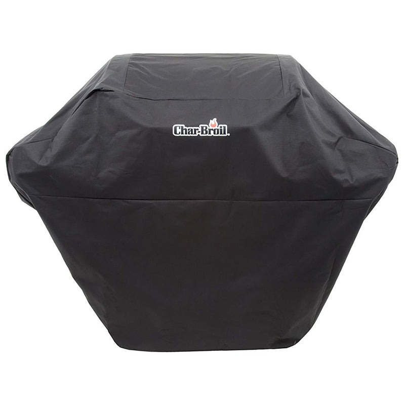 Char-Broil 2-3 Burner Rip-Stop Barbecue Grill Cover, 52 Inches, Black