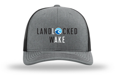 LANDLOCKED LAKE Hat Hea Grey