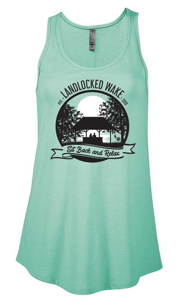 Sit Back and Relax Flowy Tank