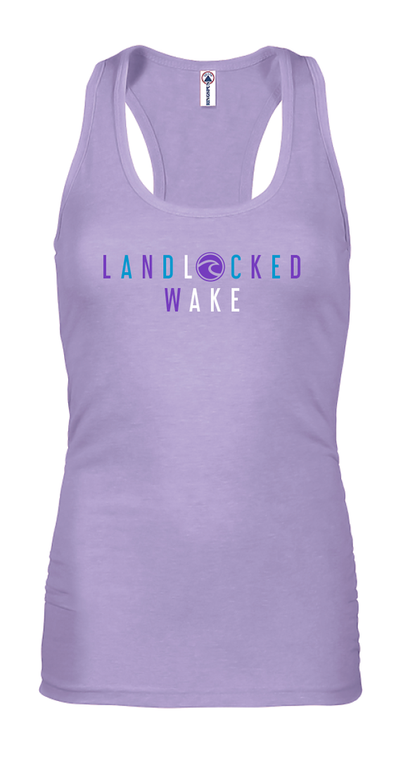 LandLocked LAKE - Jr. Fit Tank