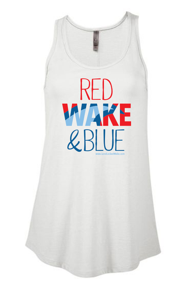Red WAKE & Blue