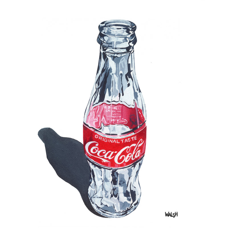 Empty Coke Bottle