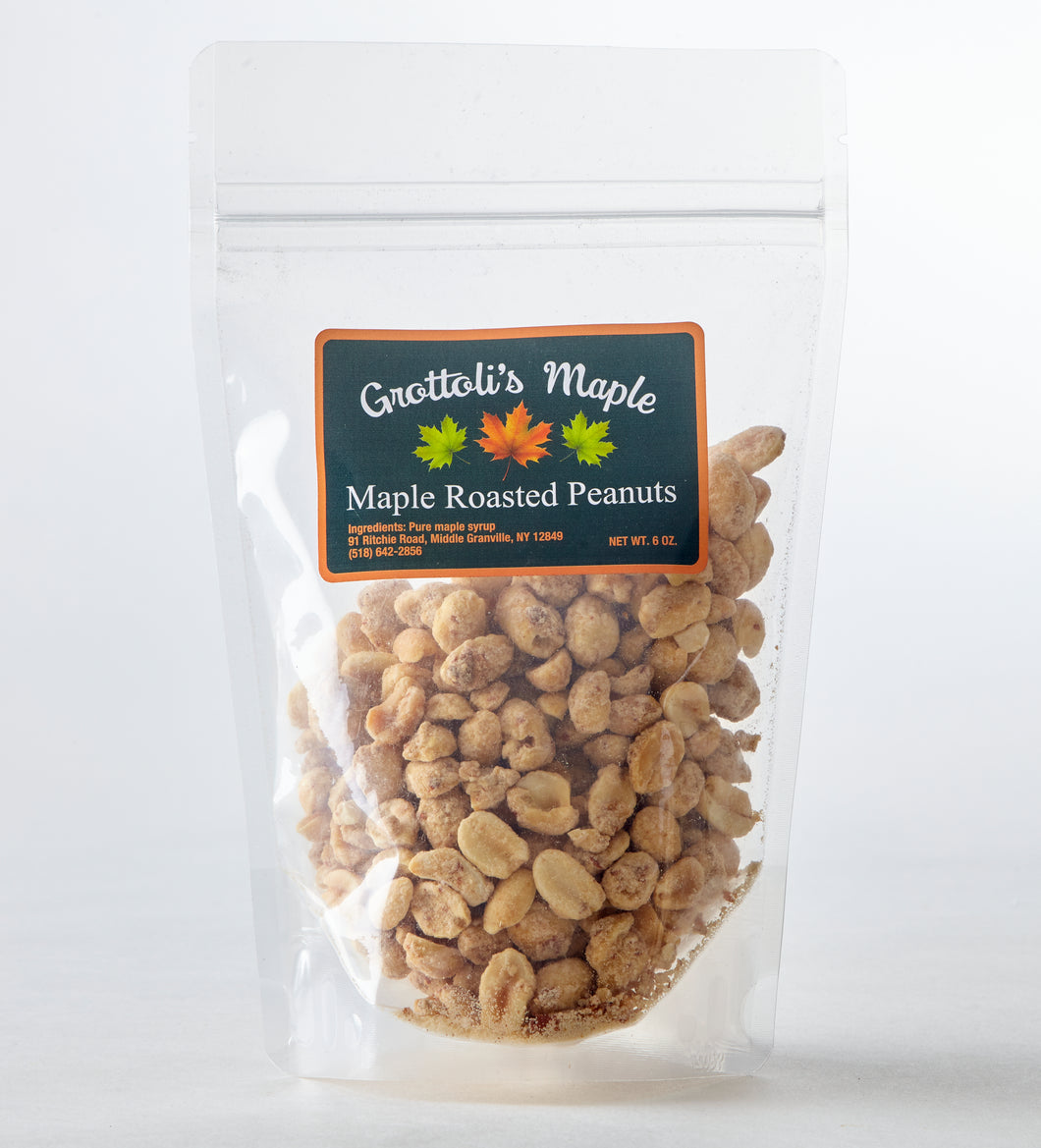 Maple Roasted Peanuts
