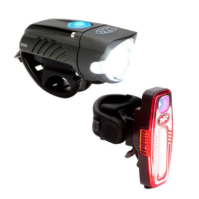 niterider swift 500 sabre 110 best budget usb rechargeable bike front and rear light