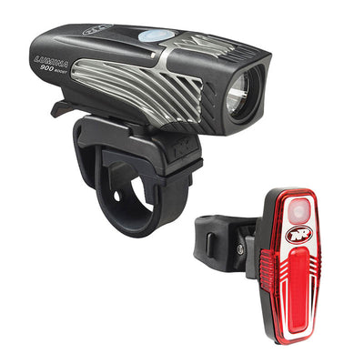 niterider lumina 900 boost and sabre 80 combo light set usb bright bike taillight