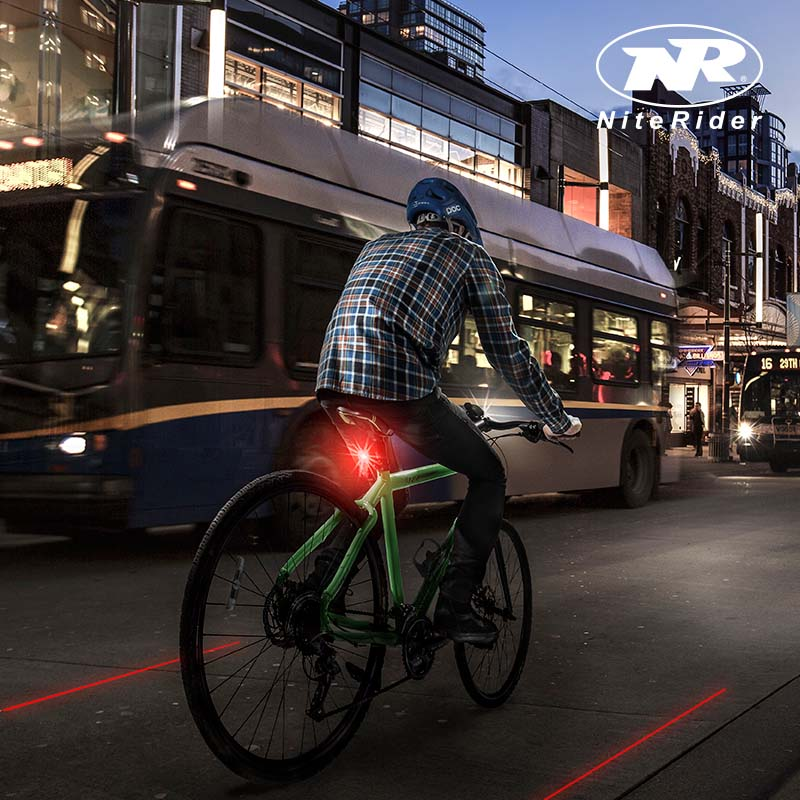 laser bike lane creates bicycle lane ride