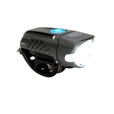 niterider swift 300 affordable bright usb rechargeable front bike light