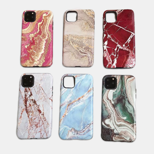 Candy swan  Glossy Marble Phone Case iphone