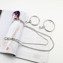 Load image into Gallery viewer, Rock Punk Silver Chain and  Accessories