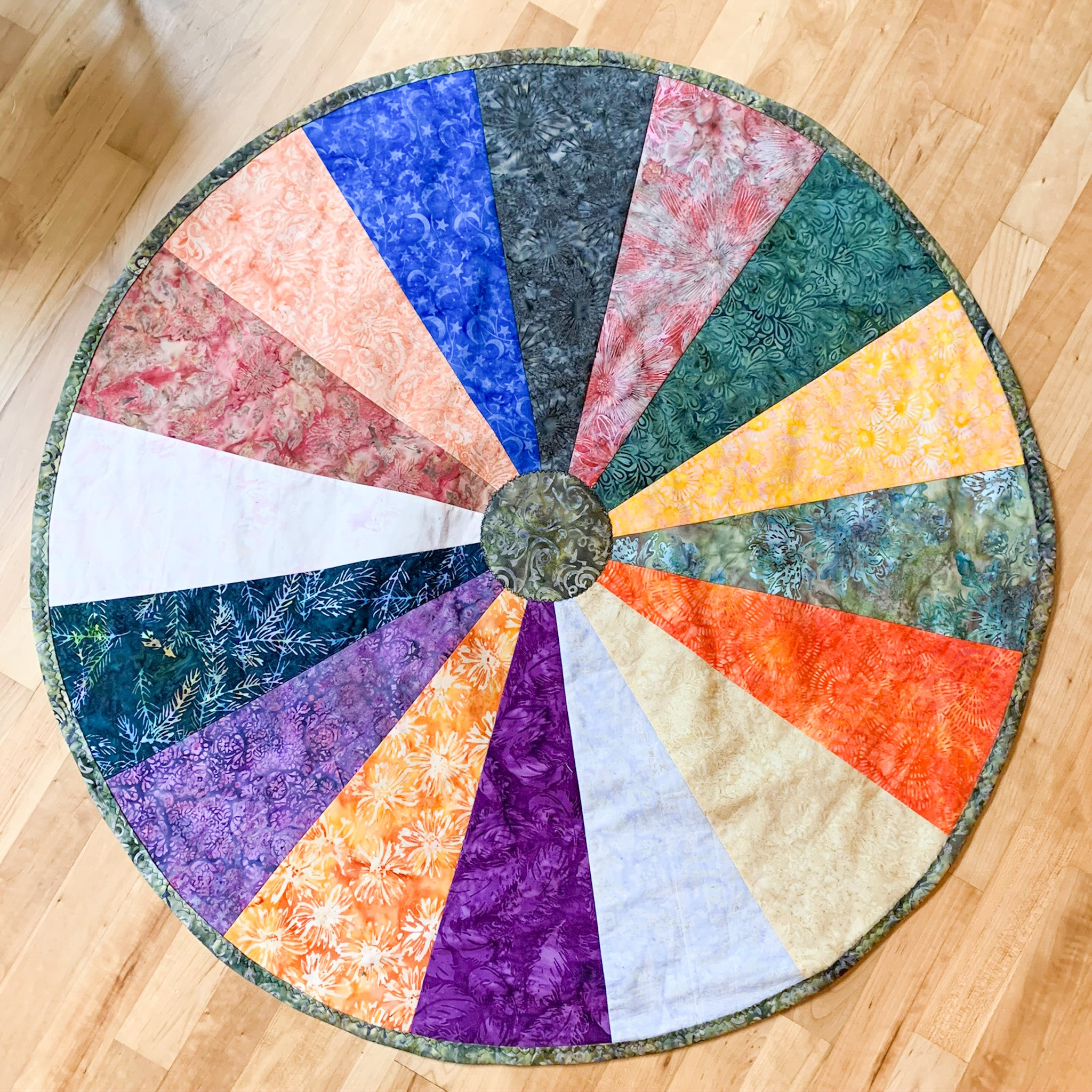 Custom Sacred Space Wheel 38""