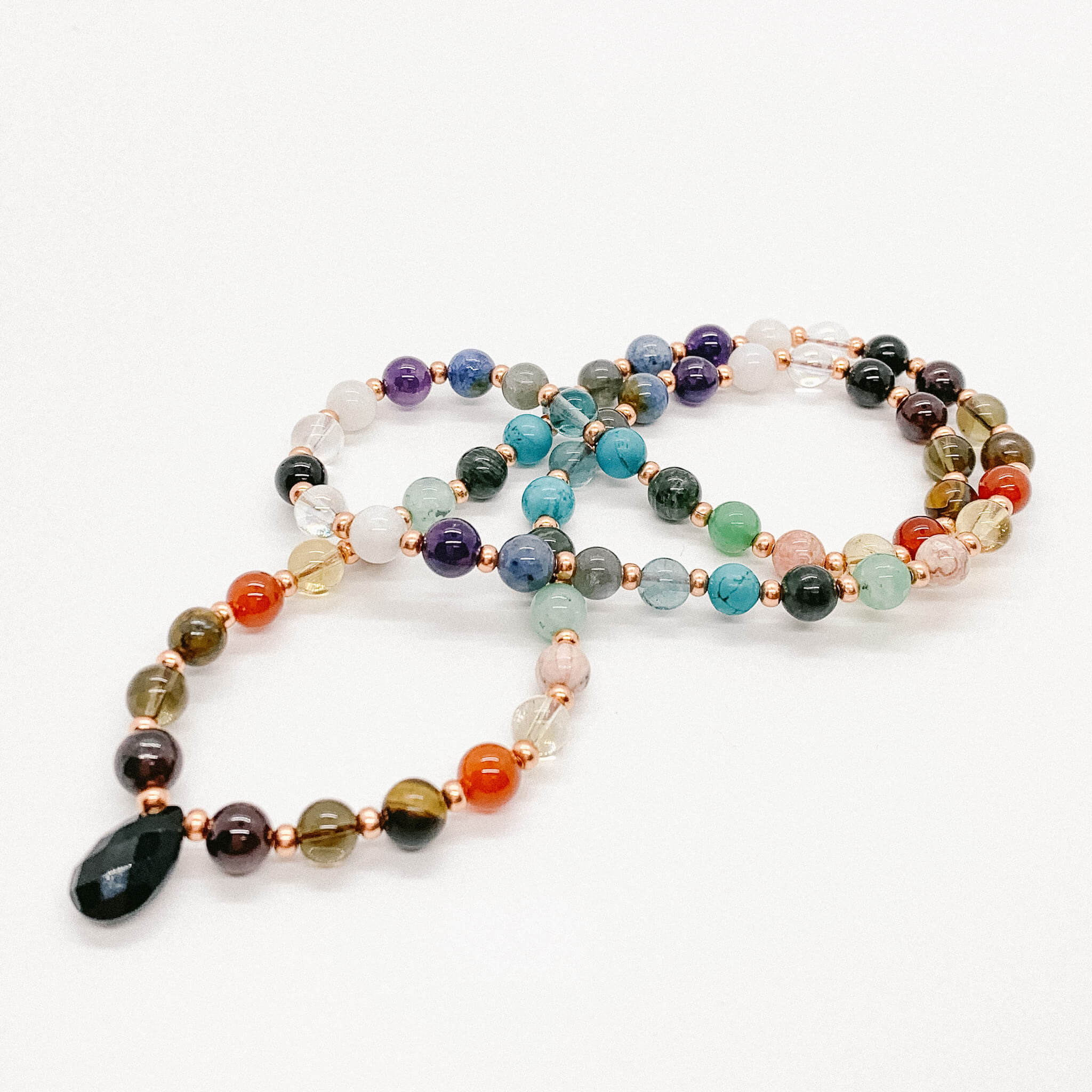 Full Collection Gemstone Heart Strands