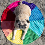 Load image into Gallery viewer, Grumble Farm Chakra Pet Wheel 30""