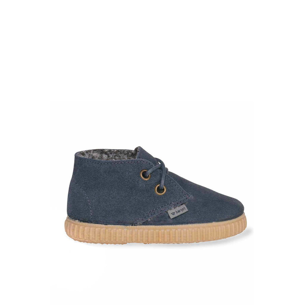 barqet dogma high kids blue suede