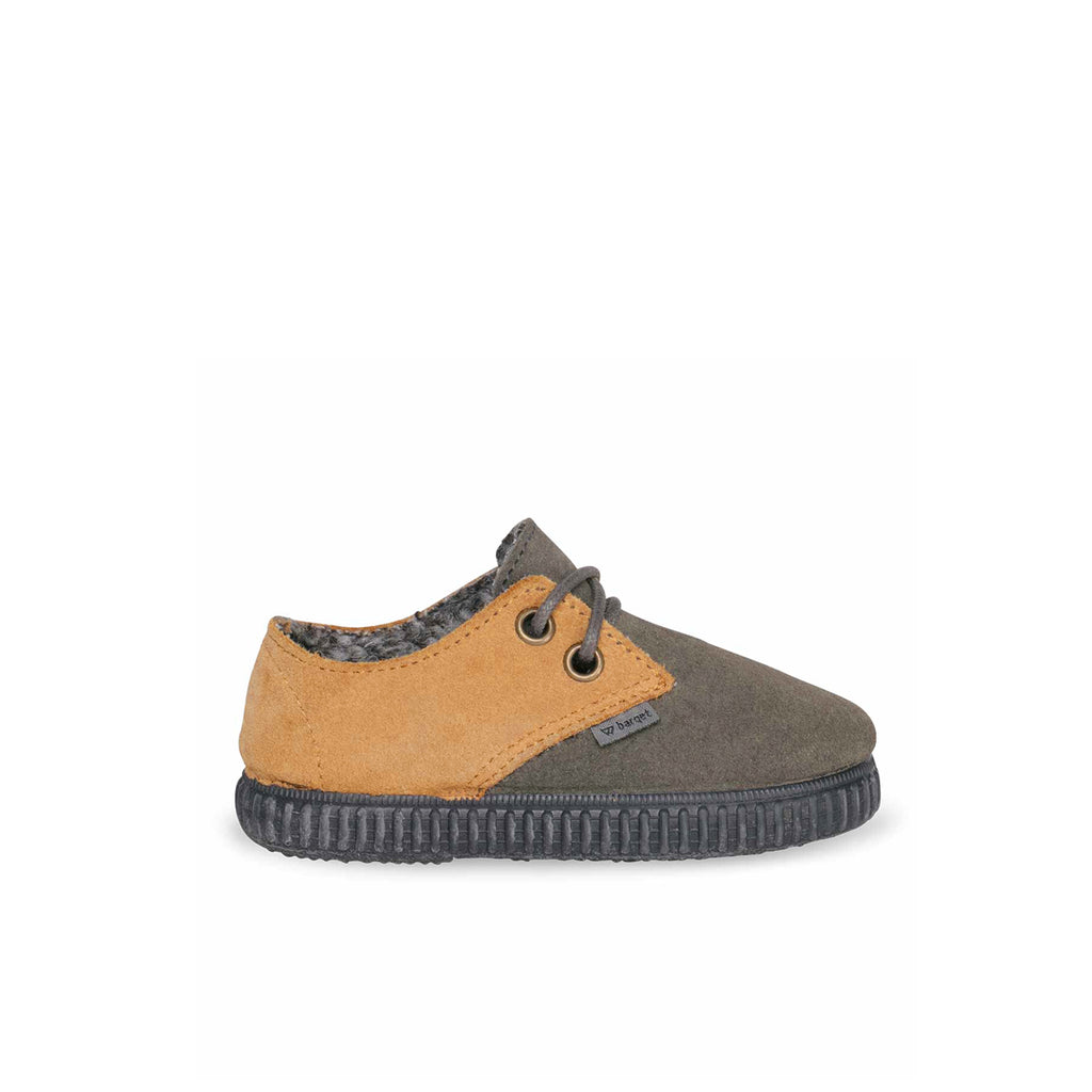 barqet dogma low kids grey-mustard