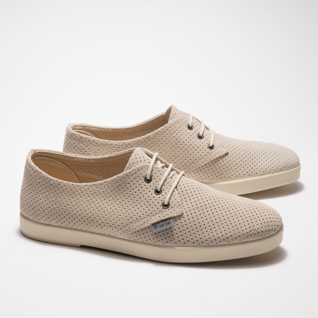 Barqet Dogma Low Perforated Raw Suede