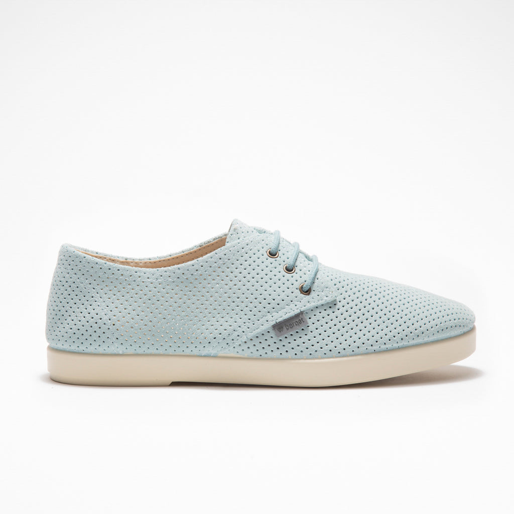 Barqet Dogma Low Perforated Sky Suede