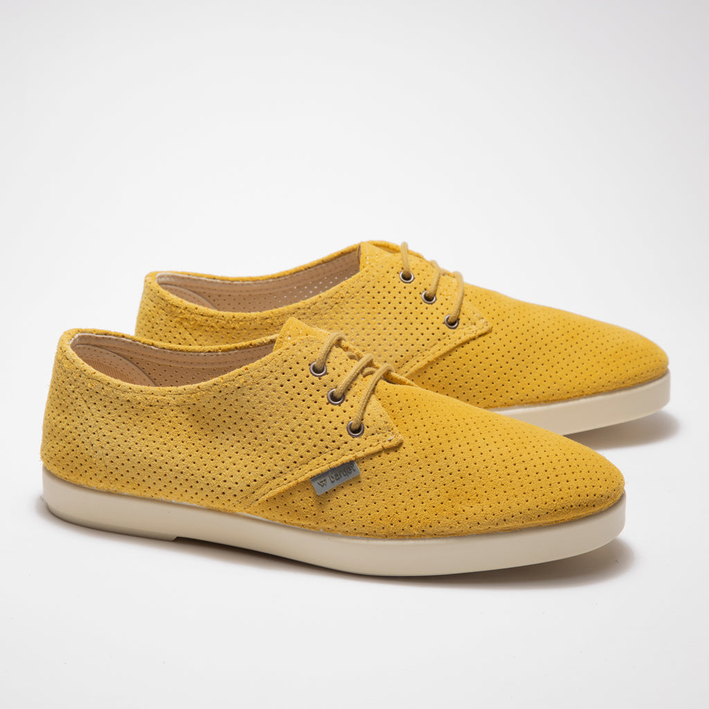 Barqet Dogma Low Perforated Yellow Suede