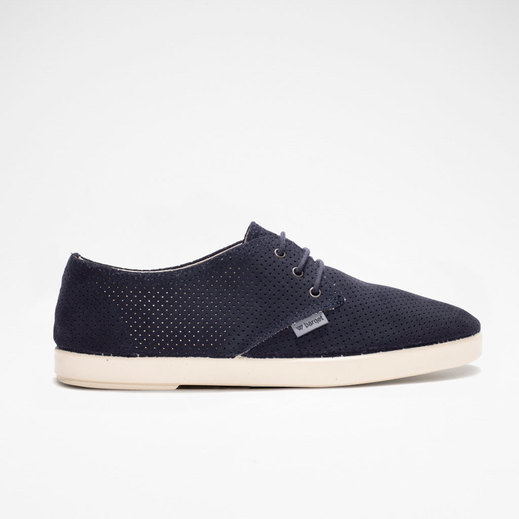 Barqet Dogma Low Perforated Navy Suede