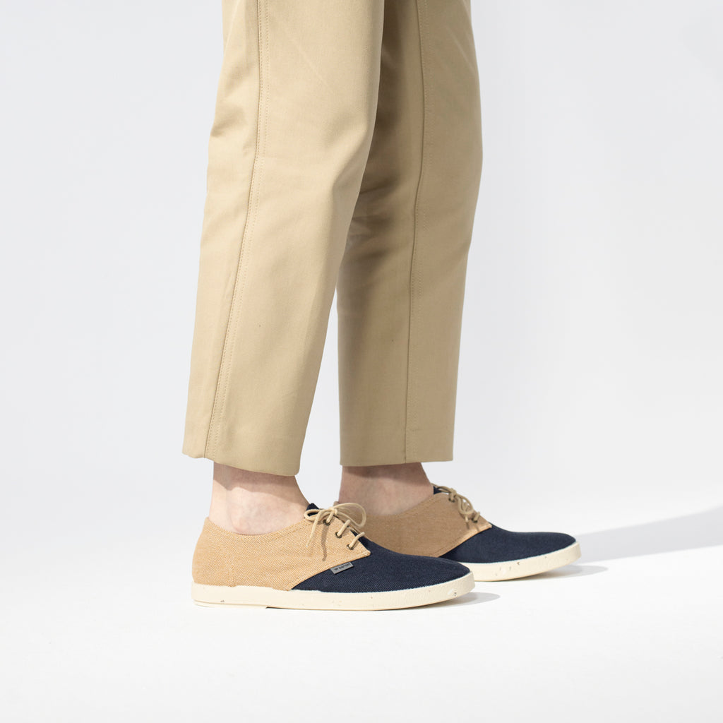 Barqet Dogma Low Recycled Dark Navy/Sand