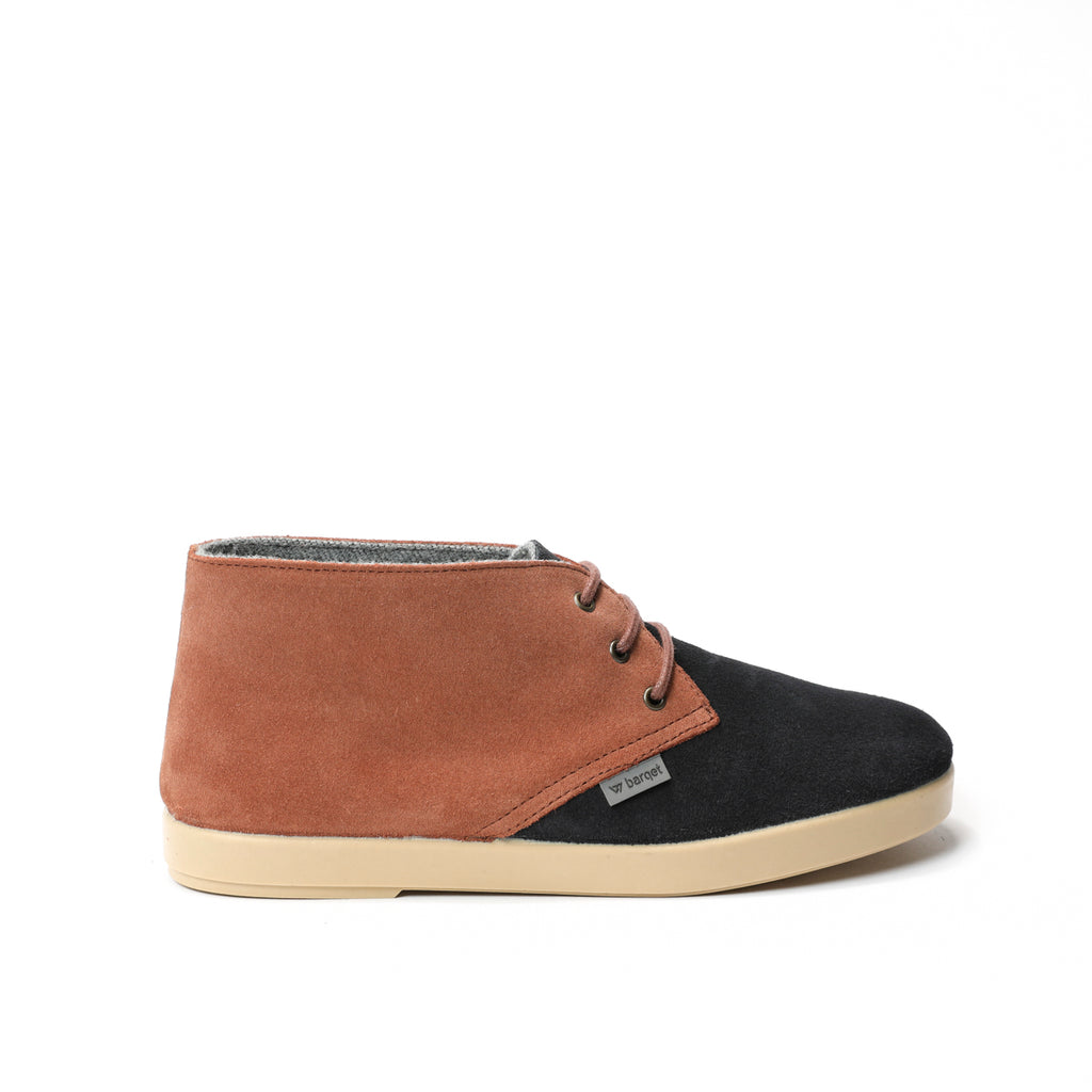 barqet dogma high navy-old rose suede